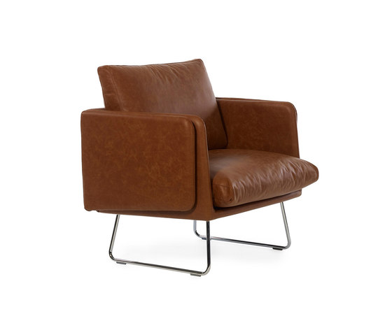 Spongy Armchair Leather de RS Barcelona | Fauteuils