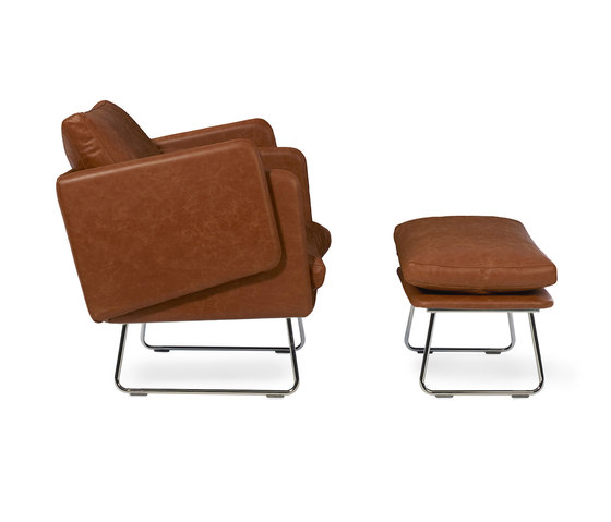 Spongy Armchair Leather by RS Barcelona | Armchairs