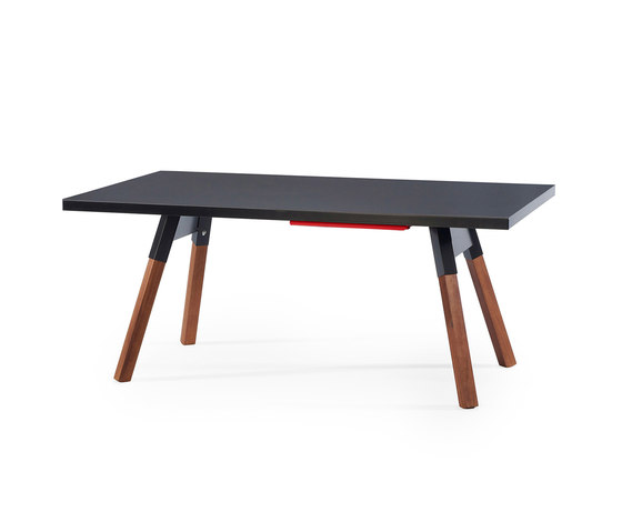 You and Me 180 Ping Pong Table Black de RS Barcelona | Mesas comedor