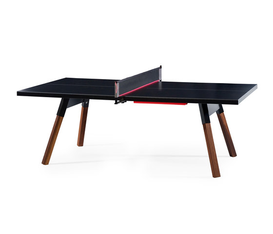 You and Me 220 Ping Pong Table Black by RS Barcelona | Dining tables