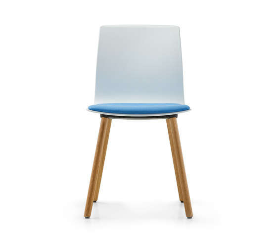 Fiore four-legged model by Dauphin | Chairs