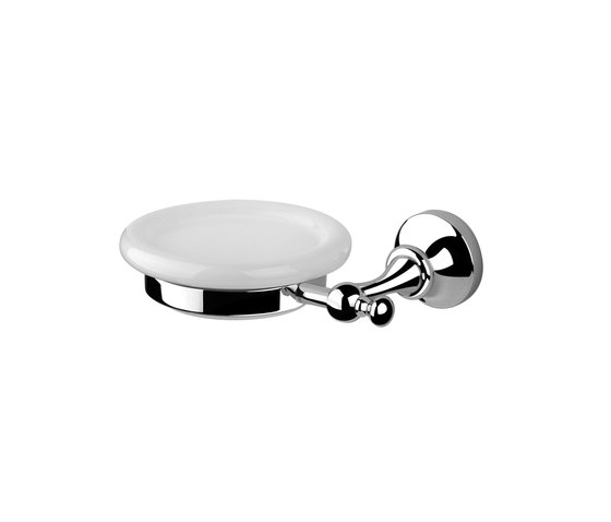 Bloomsbury | Ellington Wall Mounted Soap Dish And Holder by BAGNODESIGN | Soap holders / dishes