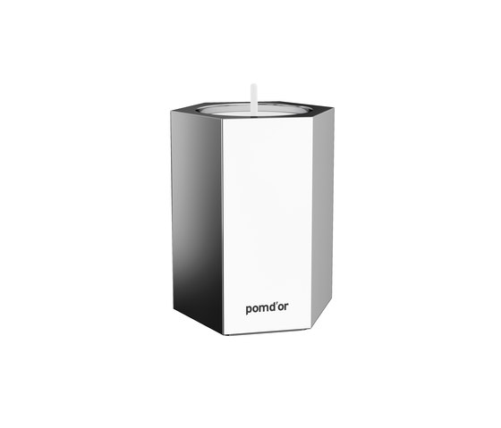 Mirage Candle Holder Large by Pomd'Or   Candlesticks / Candleholder