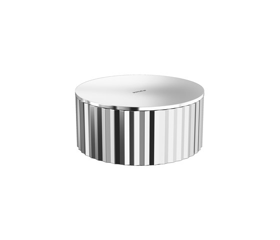 Mirage Ribbed Pot by Pomd'Or | Beauty accessory storage