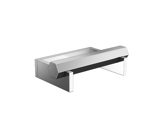 Mirage Paper Holder Without Cover by Pomd'Or | Paper roll holders