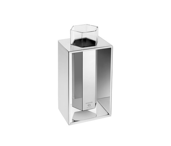 Mirage Free Standing Brush Holder With Frame by Pomd'Or   Toothbrush holders
