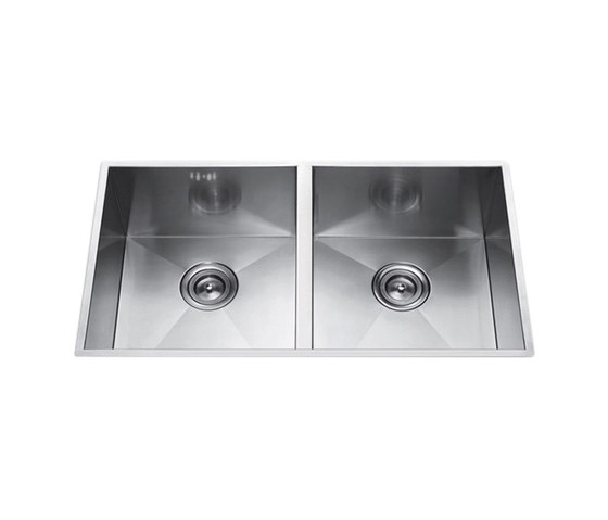 Aquaeco | Double Undermount Sink by BAGNODESIGN | Kitchen sinks