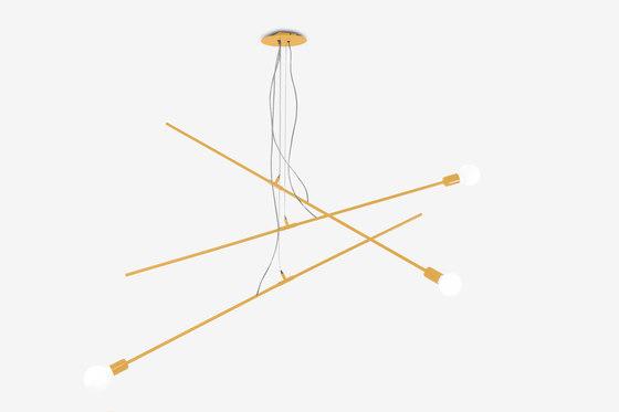 Still small⎪triple de Nathalie Dewez Lighting | Suspensions