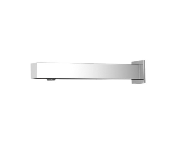 Aquaeco | Square Wall Mounted Infrared Tap by BAGNODESIGN | Wash basin taps