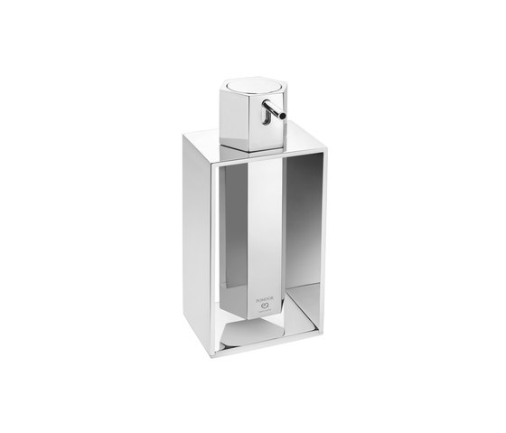 Mirage Free Standing Soap Dispenser With Frame by Pomd'Or | Soap dispensers
