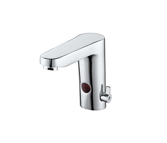 Aquaeco | Infrared Basin Mixer with Temperature Control by BAGNODESIGN | Wash basin taps