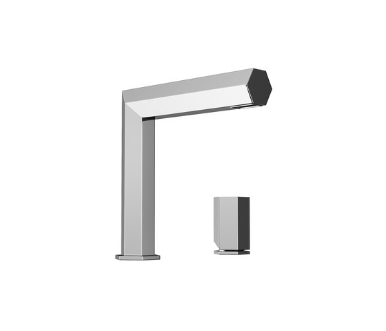 Mirage Single Side Lever Washbasin Faucet Mixer by Pomd'Or | Wash basin taps