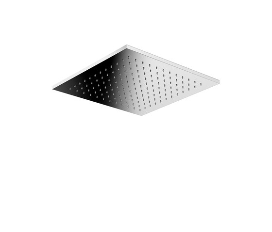 Mirage Recessed Ceiling Shower Head Easy Clean by Pomd'Or | Shower controls