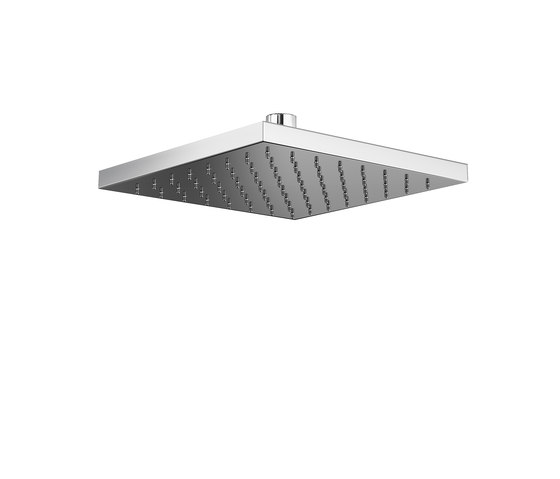Mirage Ceiling Or Wall-Mounted Shower Head Easy Clean by Pomd'Or | Shower controls