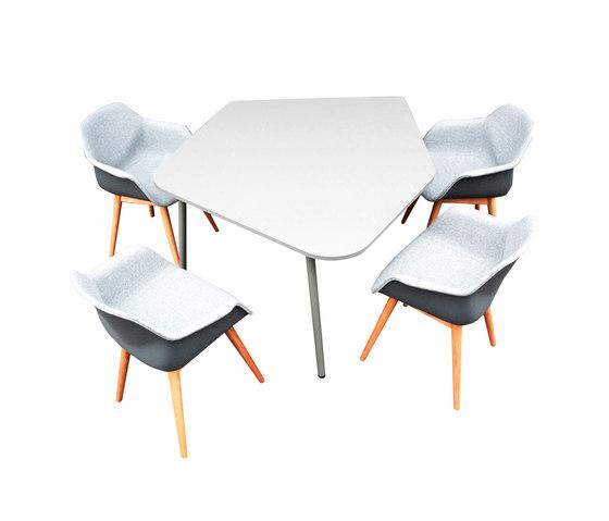 FourReal® 741 Flake di Four Design | Tavoli contract