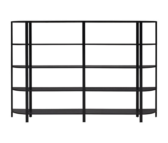 Omni | shelving system, high double by AYTM | Shelving