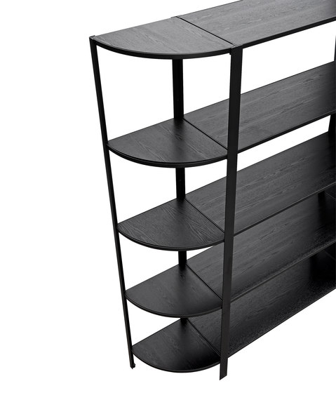 Omni | shelving system, high single by AYTM | Shelving