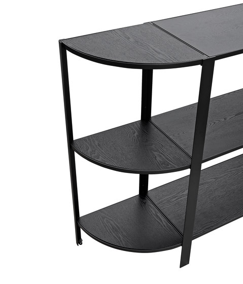 Omni | shelving system, low double by AYTM | Shelving