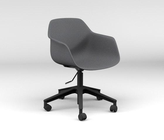 FourMe® 66 upholstery de Four Design | Sillas de oficina