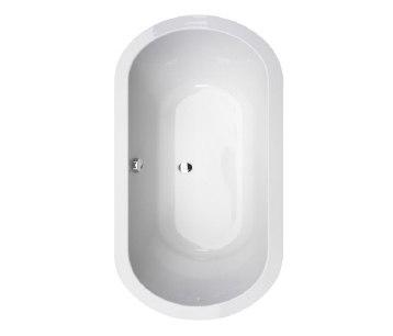 Corsair | Oval Inset Bathtub by BAGNODESIGN | Bathtubs