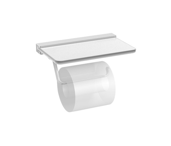 Hotel | Toilet Roll Holder With Cover by BAGNODESIGN | Paper roll holders