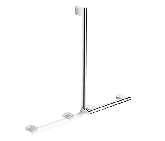 Hotel | Reversible Angled Grab Bar by BAGNODESIGN | Grab rails