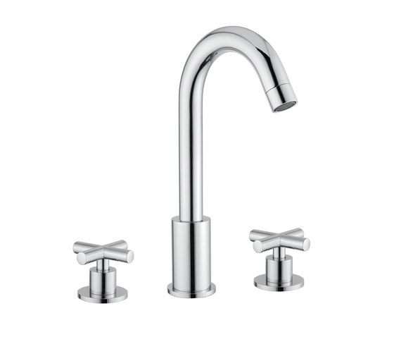 Ibiza | Mono Basin Mixer With Waste by BAGNODESIGN | Wash basin taps