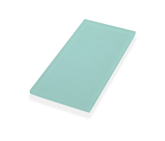 Beach Tile Rectangles - Spring Glass by Island Stone | Glass tiles