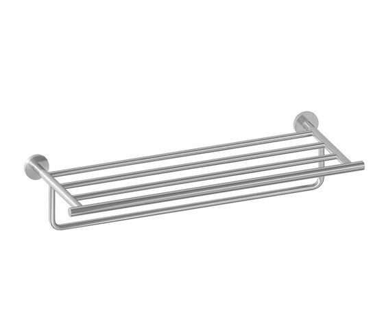 IX304 | Stainless Steel Towel Rack With Hanging Rail by BAGNODESIGN | Towel rails