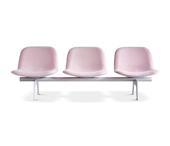 Eyes Lounge bench de Erik Jørgensen | Bancos