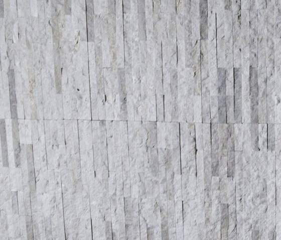 Mini Split - Budis Creme Marble Cladding by Island Stone | Natural stone mosaics
