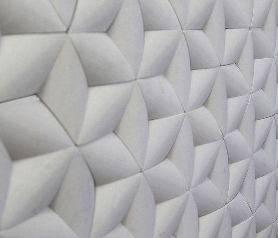 Paragon Hex - Sandstone Mint de Island Stone | Mosaicos de piedra natural