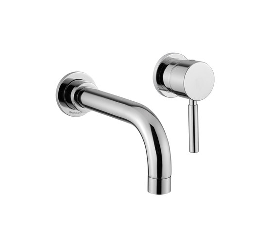 M Line | 2 Hole Concealed Basin Mixer by BAGNODESIGN | Wash basin taps