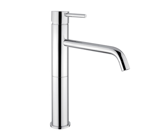 M Line   Mono Tall Basin Mixer With Pop Up Waste by BAGNODESIGN   Wash basin taps