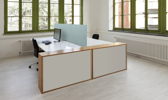 APN Area Flex Opti 45 by apn acoustic solutions | Table dividers