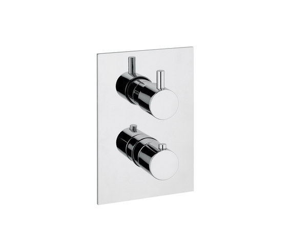 M Line   Thermostatic Shower Mixer 2 Outlet by BAGNODESIGN   Shower controls