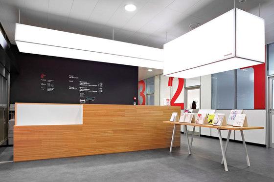 Versátil: elementos iluminados para interiores de Dresswall | Techos luminosos