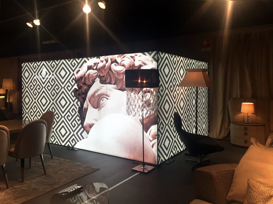 Versátil: elementos iluminados para interiores de Dresswall   Lámparas especiales