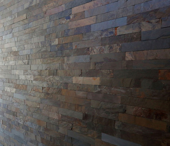 Strip Cladding - Golden Slate Strip Cladding by Island Stone | Natural stone tiles