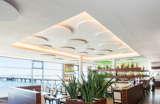 APN Vinta A (z) circle by apn acoustic solutions | Illuminated ceiling systems