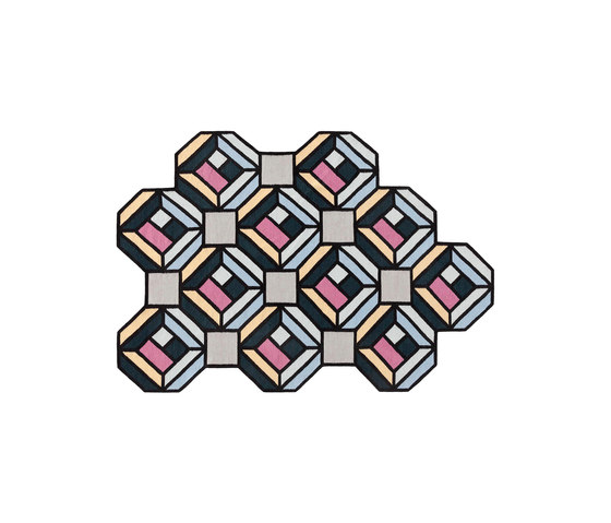 Parquet Tetragon by GAN | Rugs / Designer rugs