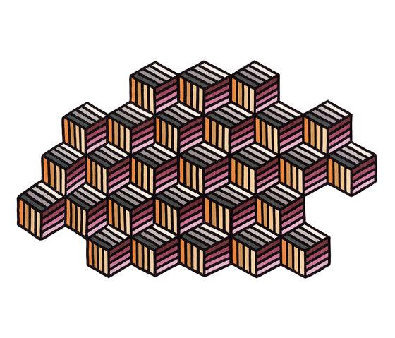 Parquet Hexagon von GAN | Formatteppiche