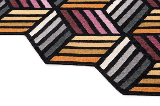 Parquet Hexagon by GAN | Rugs / Designer rugs