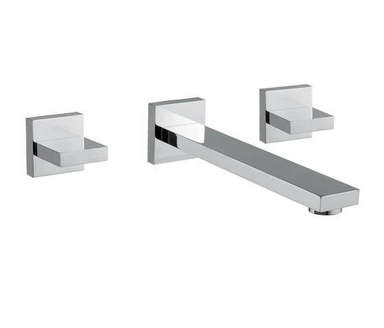 Mezzanine | Concealed 3 Hole Basin Mixer by BAGNODESIGN | Wash basin taps