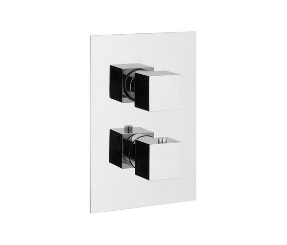 Mezzanine   Thermostatic Shower Mixer 1 Outlet by BAGNODESIGN   Shower controls