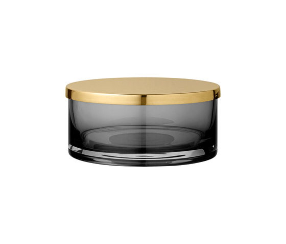 Tota | cylinder jar w. lid large by AYTM | Storage boxes