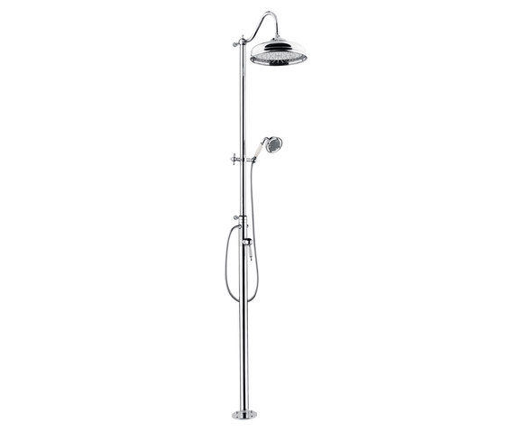 Princess Nouveau | Shower Column Floor Inlet by BAGNODESIGN | Shower controls
