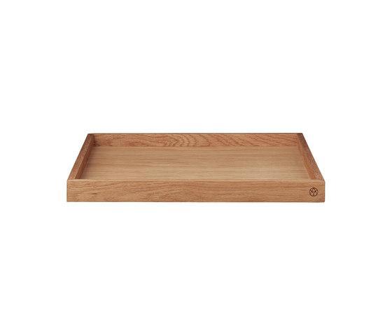 Unity | wooden tray large di AYTM | Vassoi