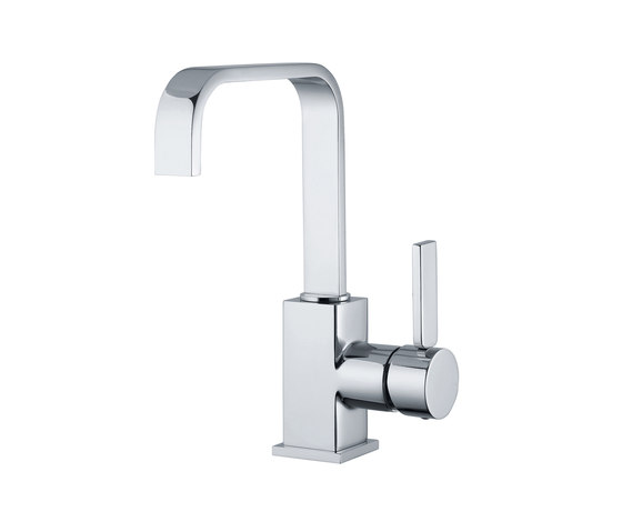 Smooth | Mono Basin Mixer With Pop-Up Waste by BAGNODESIGN | Wash basin taps
