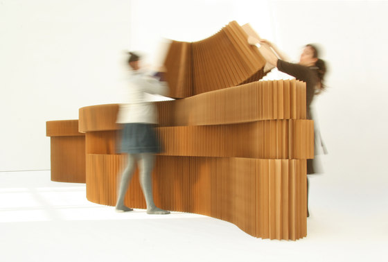 paper softblock by molo | Architectural systems